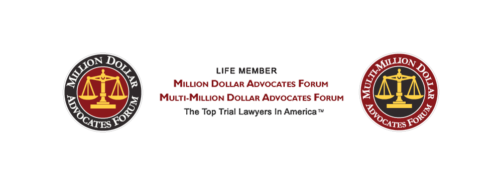 Attorney Jimmy Doyle is a Life Member of both the Million Dollar Advocates Forum and the Multimillion Dollar Advocates Forum - the top trial lawyers in America.